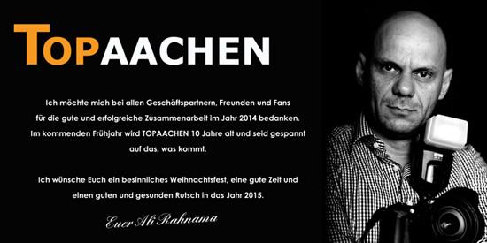 Unser letzter Gruß im Jahr 2014   Top-Aachen