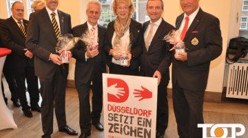 Frank Prömpeler, Dr. Joachim Wüst, Marlies Stockhorst, Thomas Geisel, Dr. Rolf Herpens