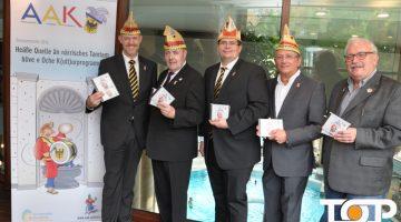 Präsident des AAK Frank Prömpeler und sein Team