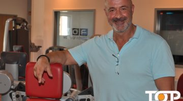 Bahram Ekhtebar ist der Inhaber der WOF Fitness-Studios