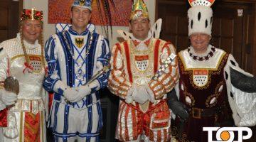 Der traditionelle Besuch des Kölner Dreigestirns in Aachen