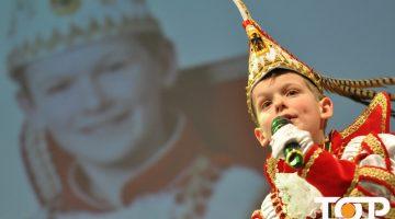 Märchenprinz Paul III. (Hahn) regiert als kleiner Narrenherrscher