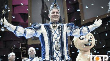 Endlich an der närrischen Macht. Prinz Karneval Michael II. Kratzenberg