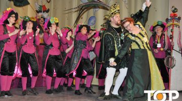 Das Prinzenpaar Micha I. und Hildi I. glänzen mit ihren Tanzeinlagen
