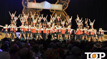 Das Tanzkorps Fidele Sandhasen Oberlar begeisterte das Publikum