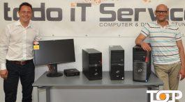 Torsten Rehberg (todo IT Service) Ali Rahnama (TOP AACHEN)