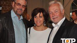Hatten Spaß auf der Media-Night: Günther Klum, Birgit Schrowange und Wolfgang Kubicki