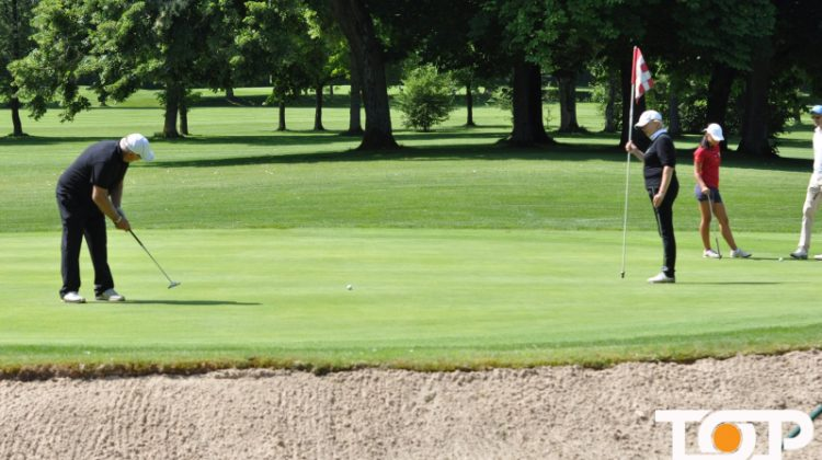Golfen für den guten Zweck auf dem Aachener Golf-Club