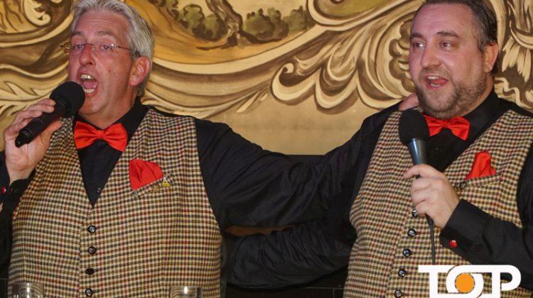 Dirk Chauvistré und Ulrich Havermann präsentierten als gesangsstarke Pöngche ihre Lieder
