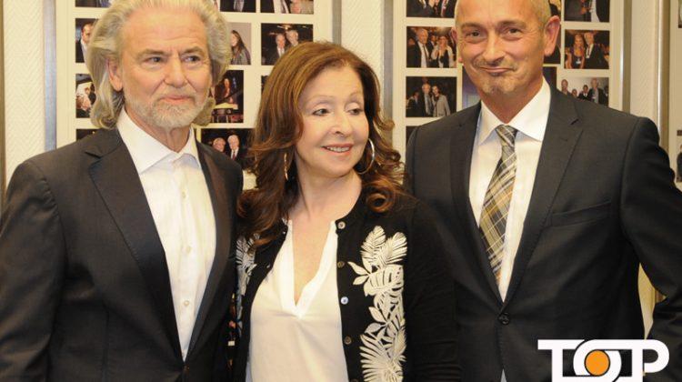 Hermann Bühlbecker, Vicky Leandros und Werner Pfeil
