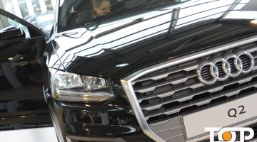 Markant und attraktiv. So kommt das neue Audi-Modell Q2 daher.