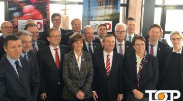 Oberbürgermeister Marcel Philipp bei der Pressekonferenz zur Tour-de-France in Düsseldorf