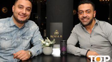 Ehsan Farahani und Amir Eghbal sind die Inhaber des Royal B