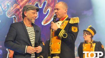 Uwe Brandt (4 Amigos) und Kommandant Michael Hommelsheim