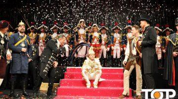 Prinz Thomas III. geniesst seinen letzten Auftritt vor seiner Auskleidung