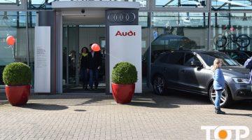 Das Audi-Fest bei strahlendem Sonnenschein