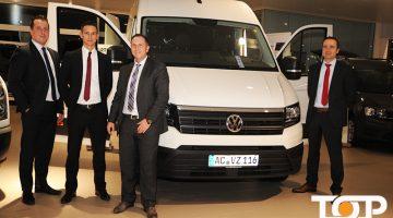 Verkaufsleiter Henrik Launhardt (rechts) mit seinem Team