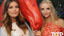 GNTM Gewinnerin 2015 Vanessa Fuchs und Model Anna Hiltrop auf der Media-Night 2017