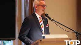 AKV-Präsident Pfeil bei der Jahreshauptversammlung