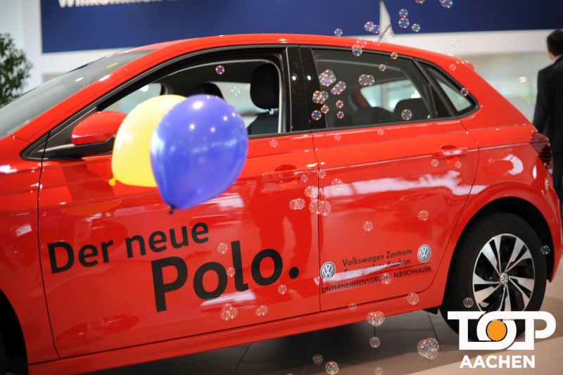 fleischhauer stellt neuen vw polo beim volkswagenfest vor. Black Bedroom Furniture Sets. Home Design Ideas
