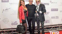 Auch Gina Oswald und Bert Wollersheim fanden den Weg zur TOP AACHEN-NIGHT und wurden durch Ali Rahnama begrüßt