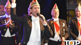Ex-Prinz Thomas Jäschke aus der Session 2016/2017 gab mit seinem prinzlichen Kameraden ein Stelldichein