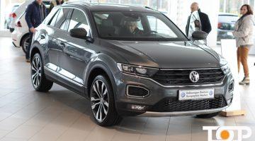 Großes Interesse herrschte bei der Präsentation des neuen VW T-Roc