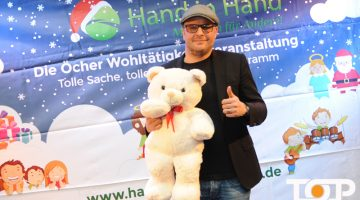 """Initiator der Charity Veranstaltung """"Hand in Hand"""" Markus Jussen"""