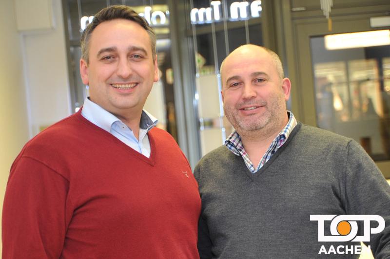 PHI Chef Sebastian Hucz und John Brünings von JHM