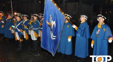 Das Traditionskorps beim Korpsappell
