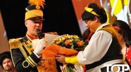 Kommandant Michael Hommelsheim  und Waschweib Sabine Verheyen