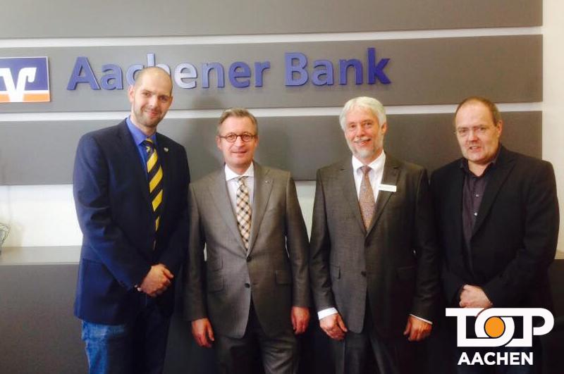 Aachener Bank unterstützt K.K. Oecher Storm | Top-Aachen on