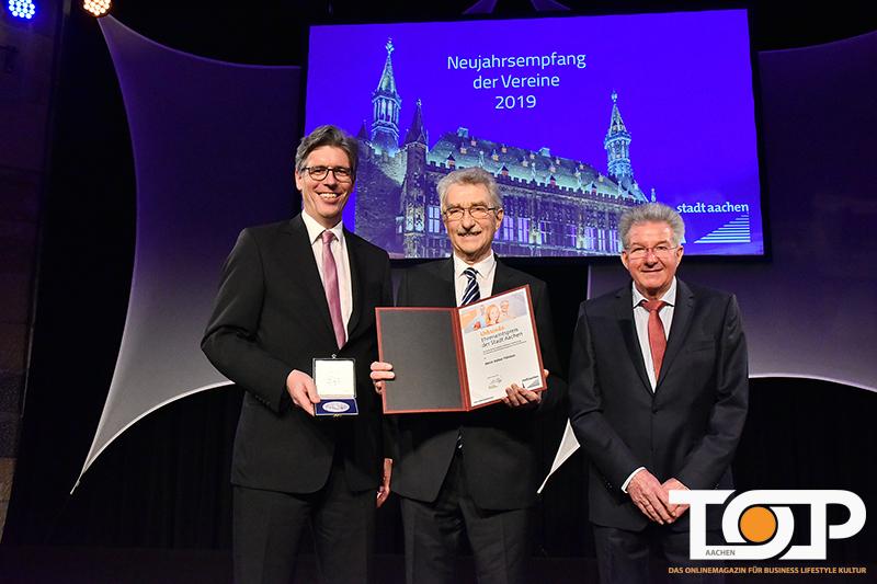 Verleihung Des Ehrenamtspreises Der Stadt Aachen 2019 Top Aachen