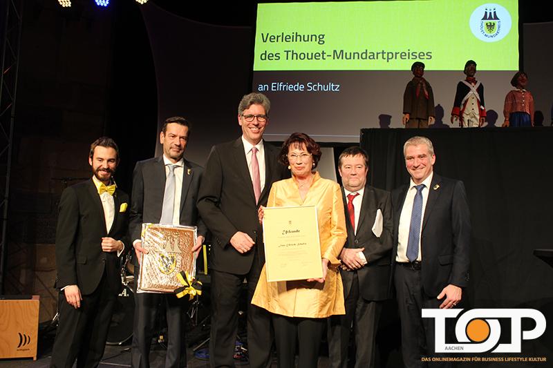 Thouet Mundartpreis 2019 Für Tant Hazzor Elfriede Schultz Top Aachen